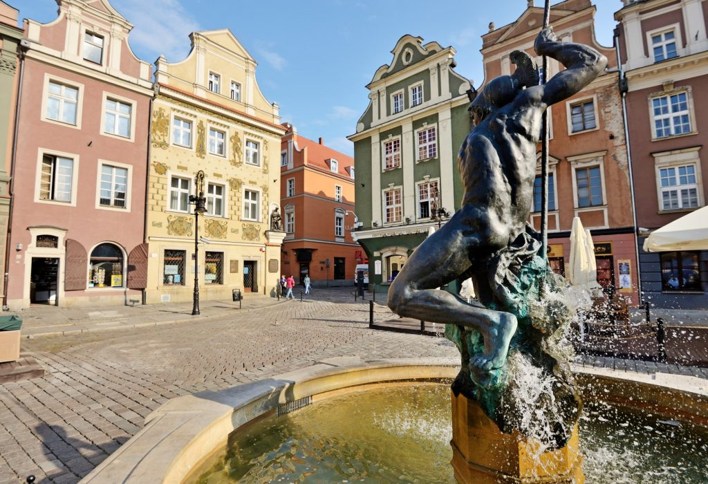 Fontanna Neptuna na Starym Rynku